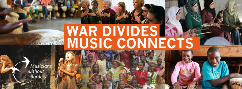 War Divides Music Connects apparel