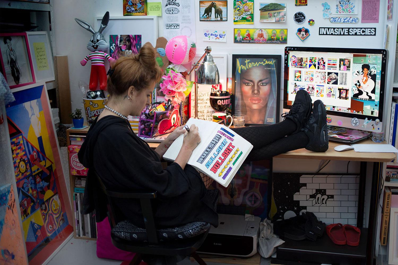 Studio Visit – Hattie Stewart